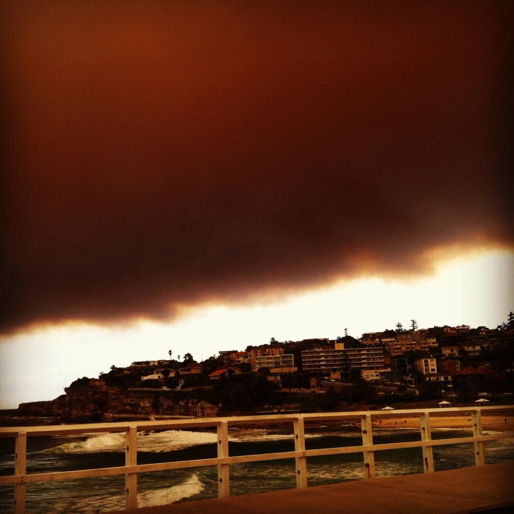 Bushfires Sydney