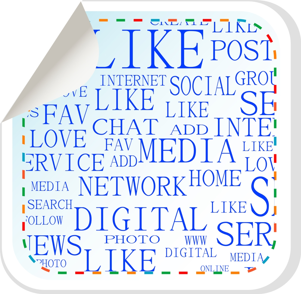 bigstock-social-media-button--label-st-33375725